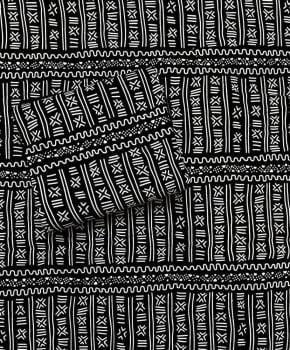Tecido Africano Estampado Bogolan - 02