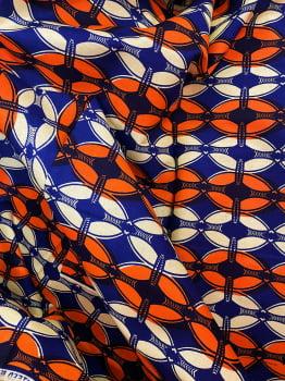 Tecido Africano Estampado 674